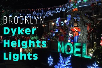Dyker Heights Lights Show with L&B Spumoni Gardens